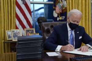 Breaking down some of the orders signed by President Joe Biden in his first week