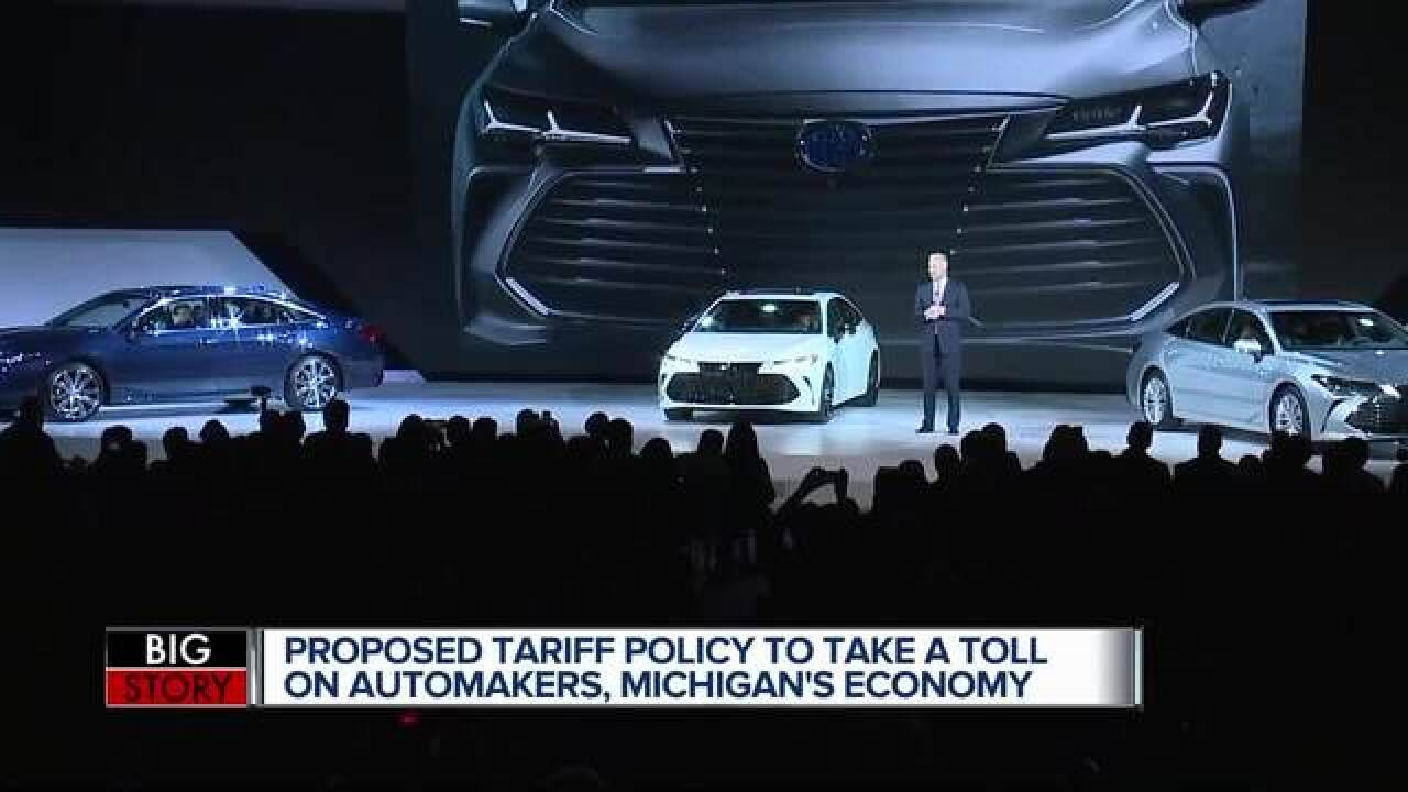 Detroit Car Manufacturers To Speak Out Against Auto Import Tax