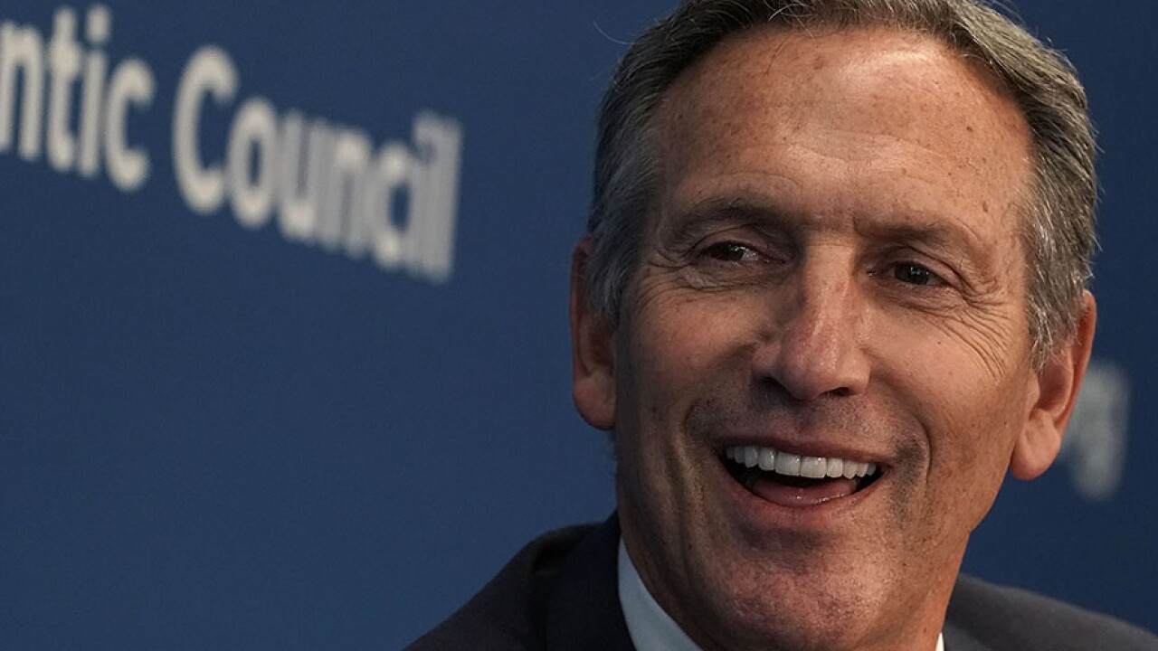 Starbucks Chairman Howard Schultz Discusses Role Of Public Global Companies