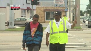People Taking Action: 80-year-old Norfolk crossing guard guides kids across the street, throughlife