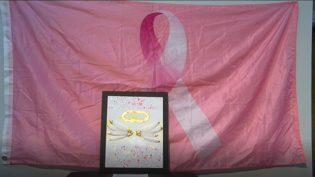 Breast cancer awareness through art