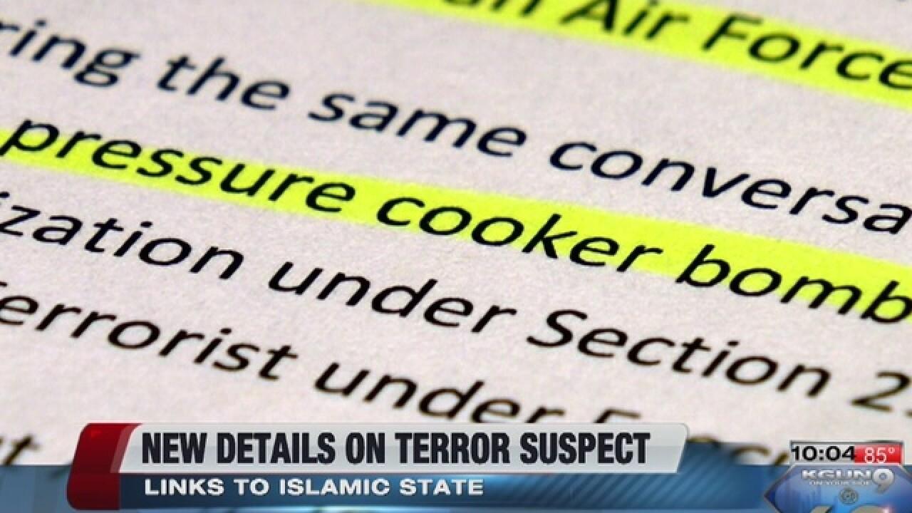 Documents show AZ man contacted terrorist organ