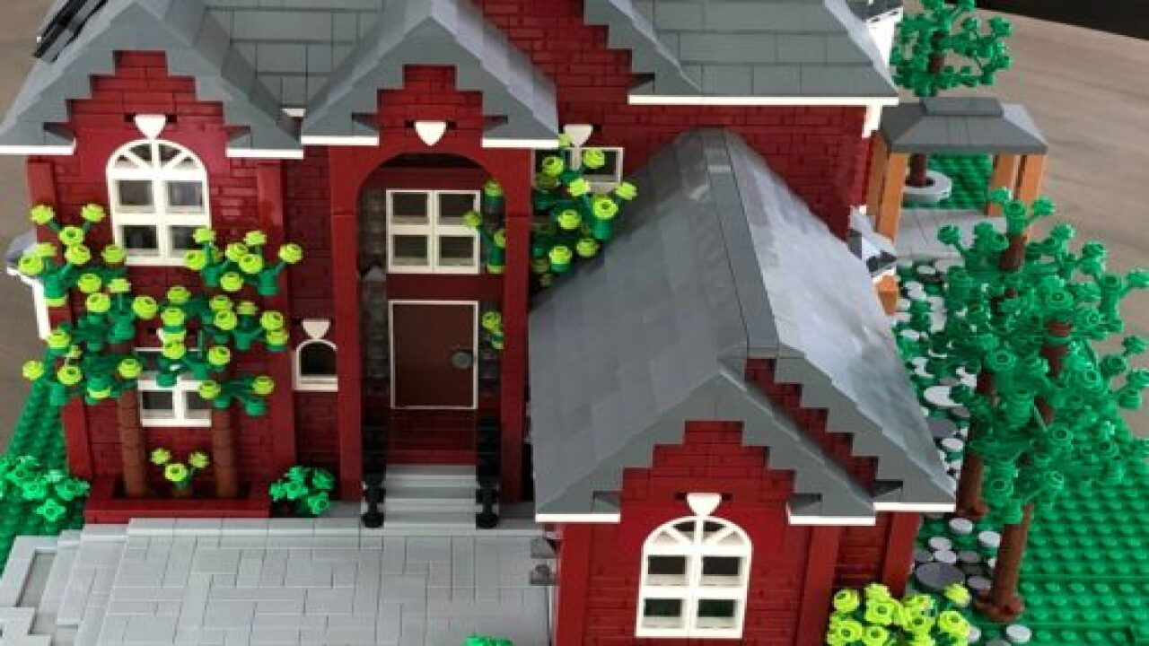 You Can Buy A Miniature Replica Of Your Home Made From Legos
