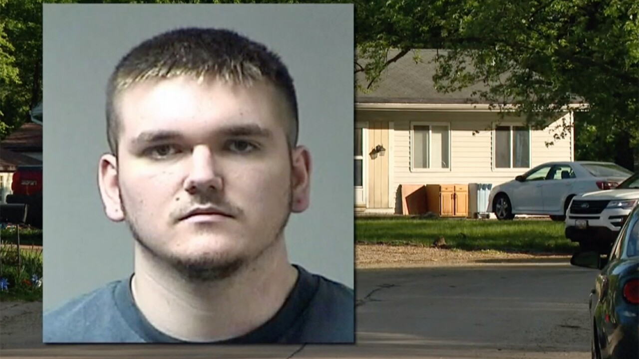 kaine louzader  missouri man accused of killing cats he