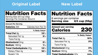 Want to be healthier? Here are some of the nutrition fact changes to keep an eye on for 2020
