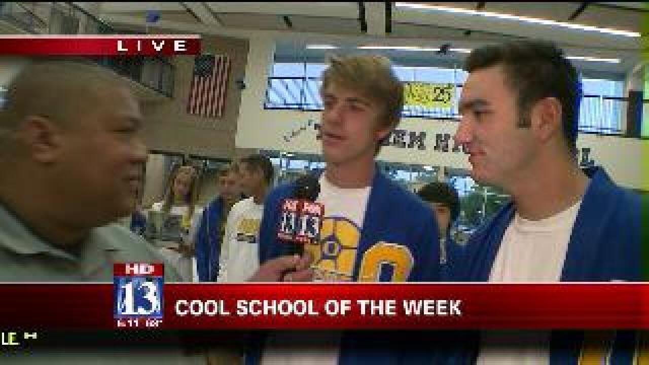 Orem High School this week's cool school