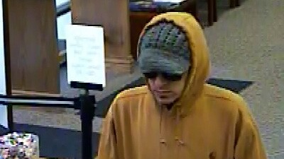 Photos: Suspect sought in SLC bankrobbery