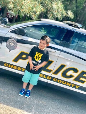 Photos: 👮🏽Boy who loves police officers gets awesome birthdaysurprise