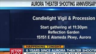 Vigil & procession to mark 7/20 anniversary