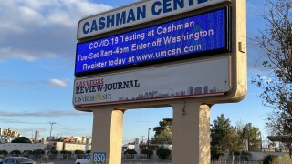 Cashman Center near downtown Las Vegas is one of the locations which is helping to distribute the COVID-19 vaccine to eligible groups.