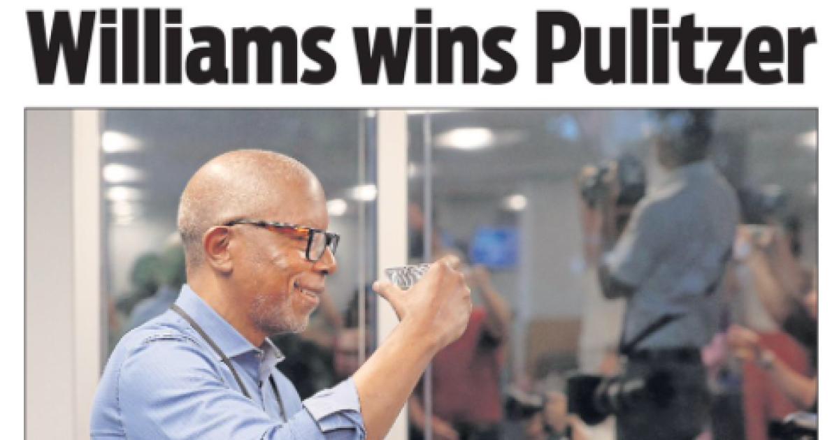 Richmond Times Dispatch Columnist Michael Paul Williams Wins Pulitzer
