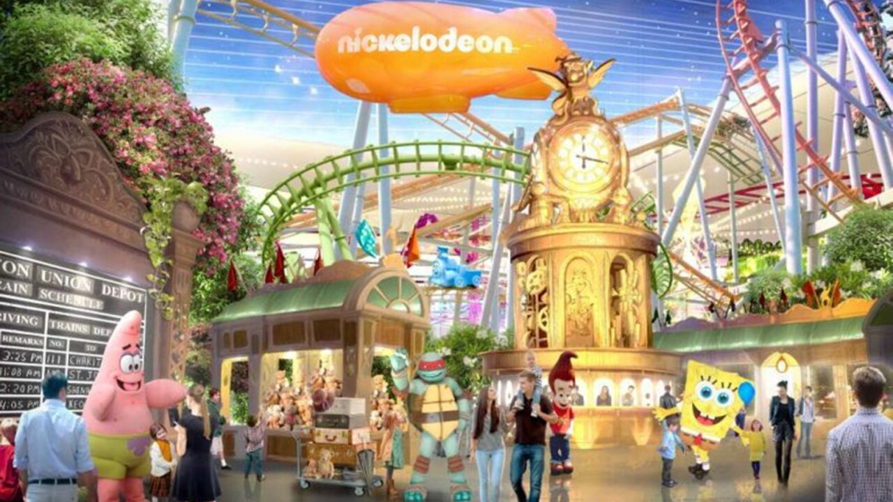 Nickelodeon Theme Park NJ