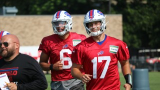 Allen has strong day three of Bills training camp