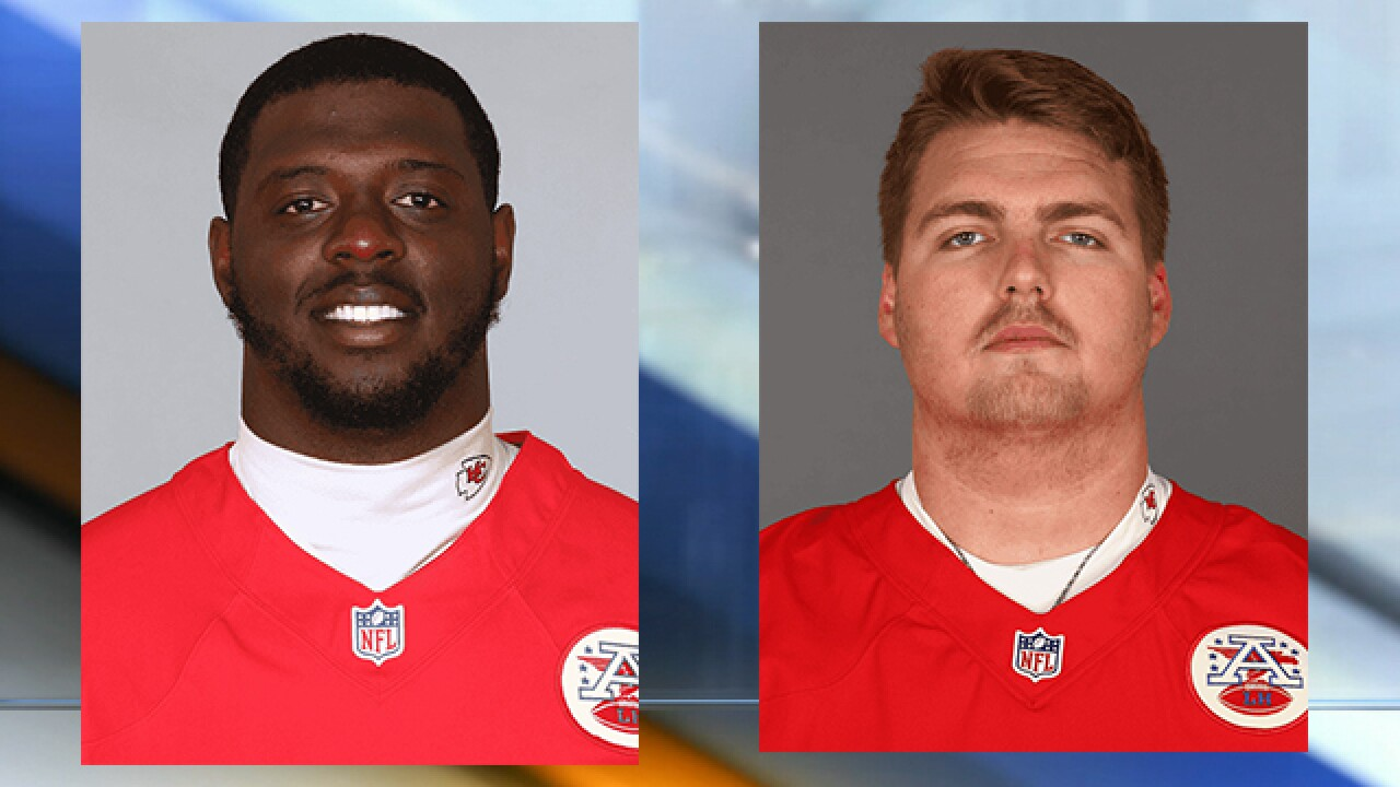 Chiefs Erving, Wylie settle in after camp battle