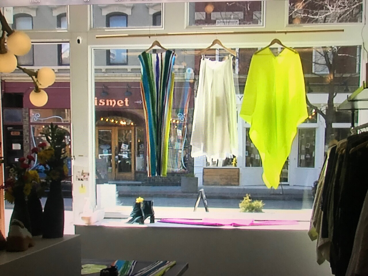 Sunshine in Idlewild Woman's windows.JPG
