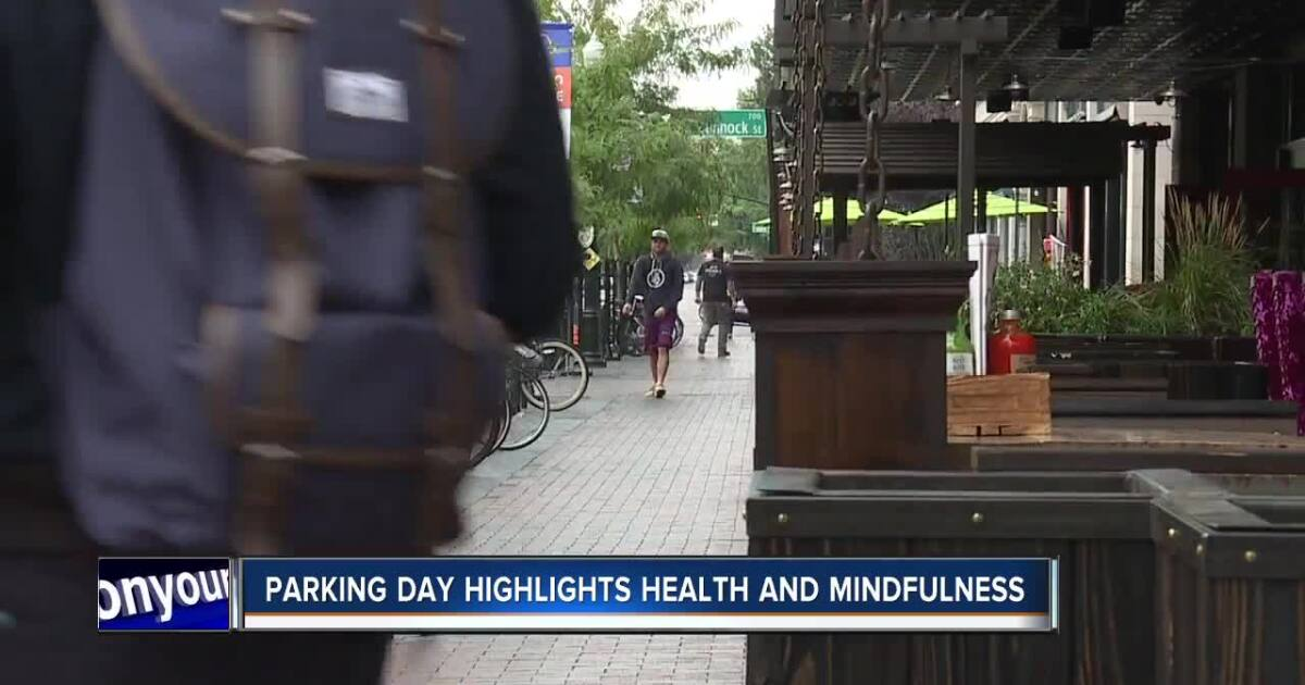 Parking day event aims to highlight health and mindfulness