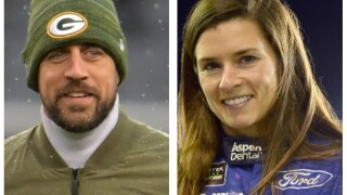 Danica Patrick finds love with Rodgers