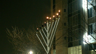Liberty Center menorah