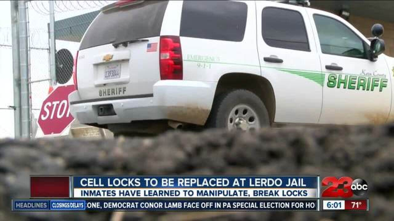 $1.7M sought to replace locks at Lerdo jail