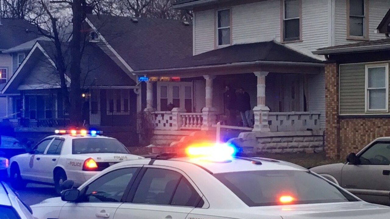 Man shot multiple times on Indy's north side