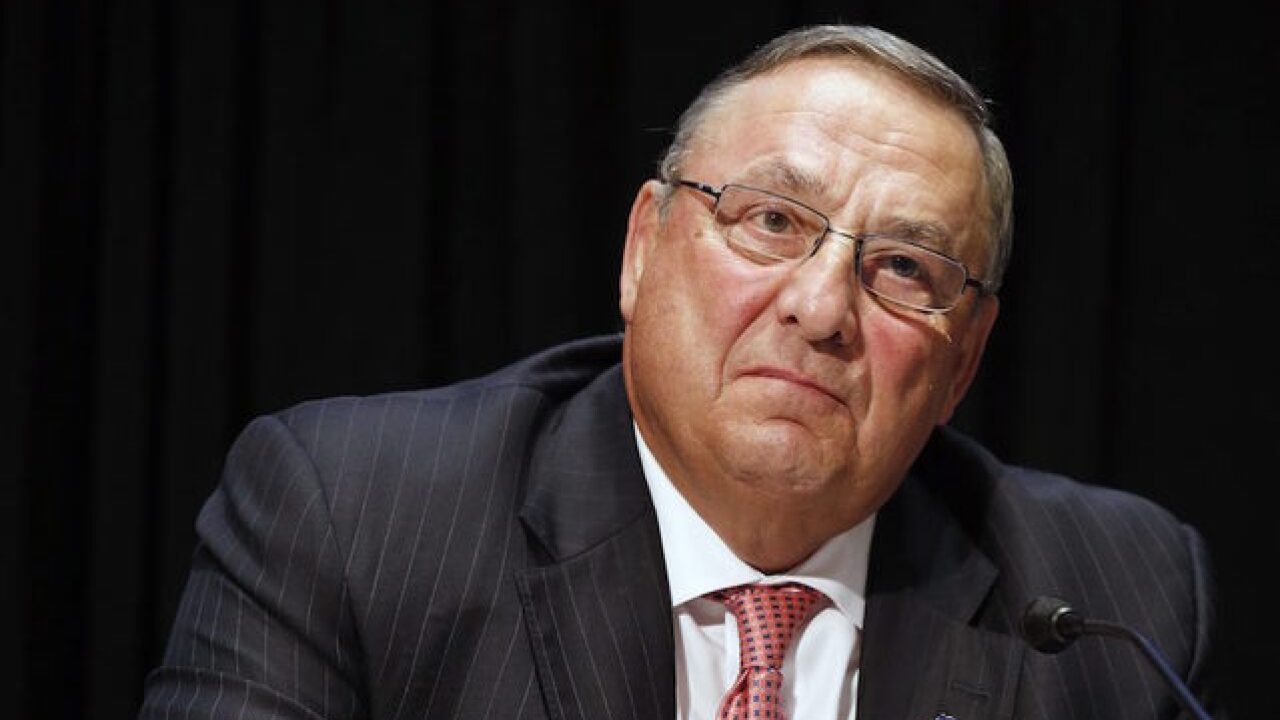 Maine governor Paul LePage leaves obscene voicemail for lawmaker