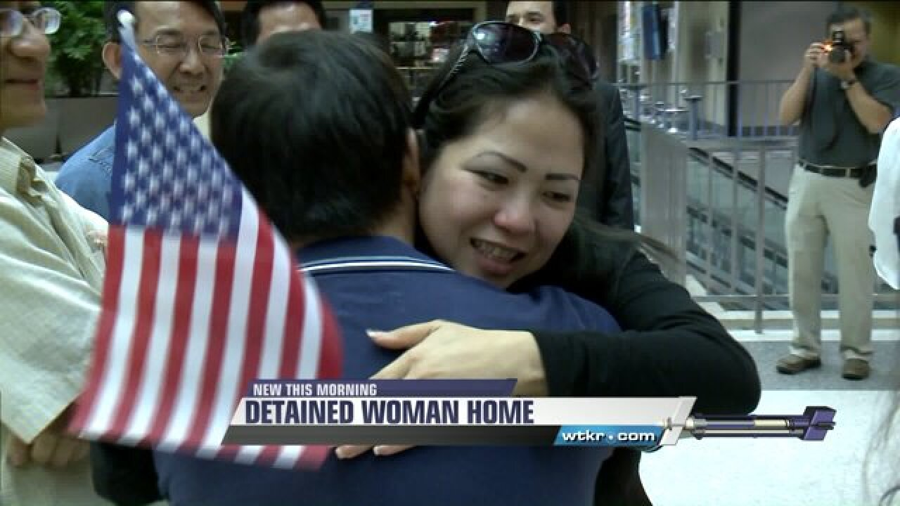 Hampton woman returns home after being detained by Vietnamesegovernment