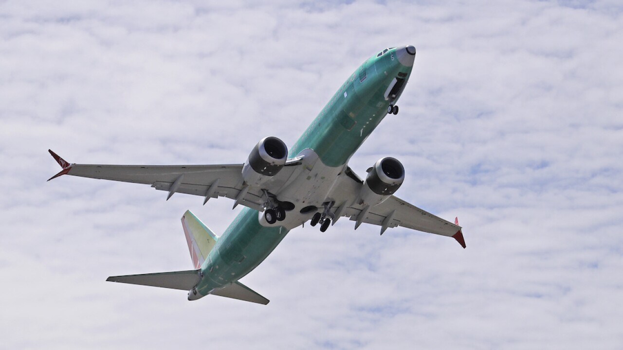 Flight testing for Boeing's 737 Max could begin Monday