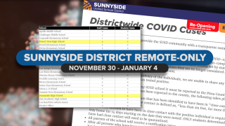Sunnyside District returns to remote-only learning