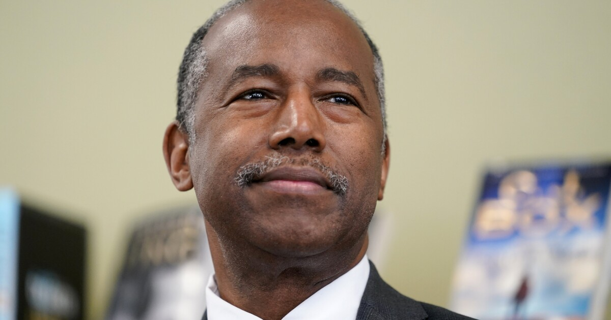 Ben Carson says he was 'desperately ill' with COVID-19