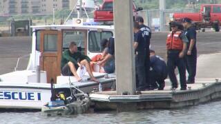 Kayaker rescued in Corpus Christi Bay