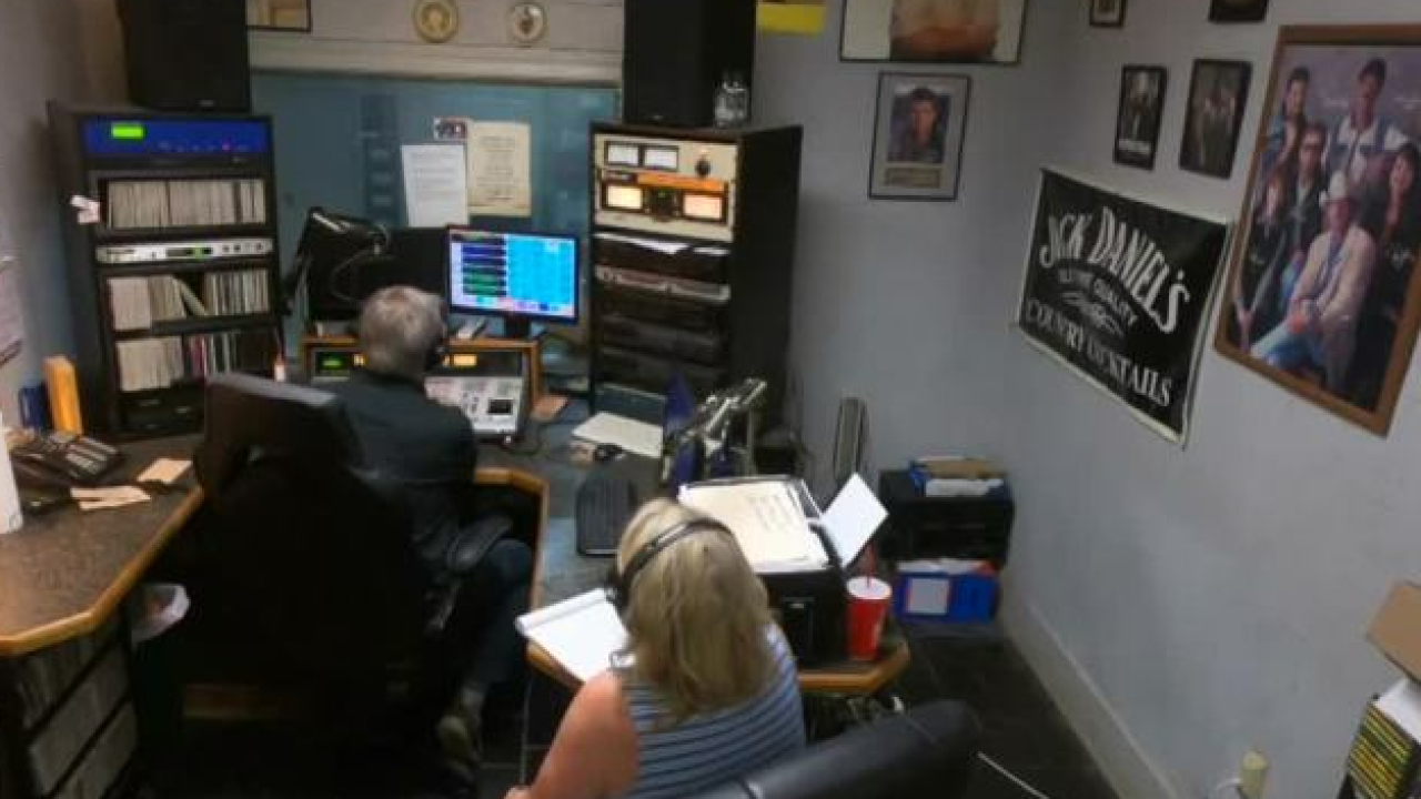 Small town radio station acts as backbone for community
