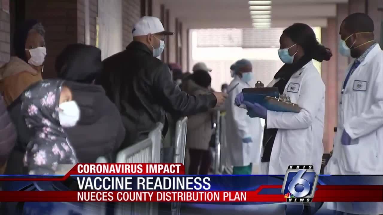 Coronavirus vaccine arrival preparedness plans