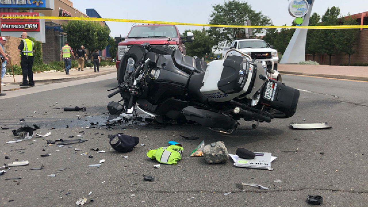 Police name Lakewood motorcycle officer involved in crash