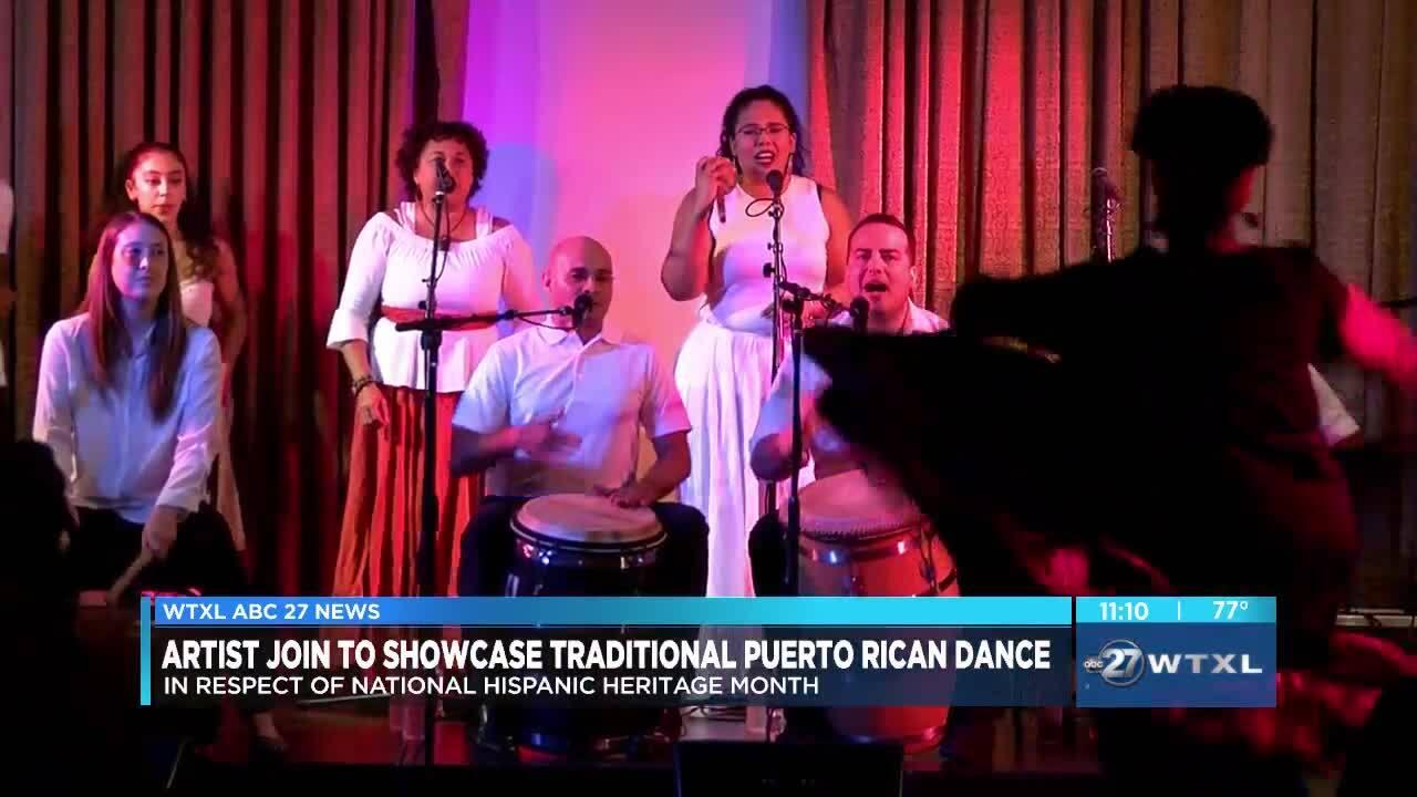dance to ring in Hispanic Heritage Month