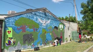 Akron mural