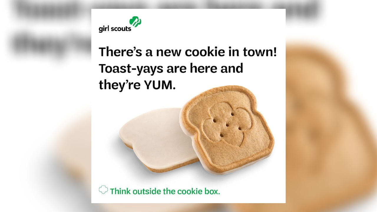Girl Scouts reveal French toast-inspired cookie coming in 2021