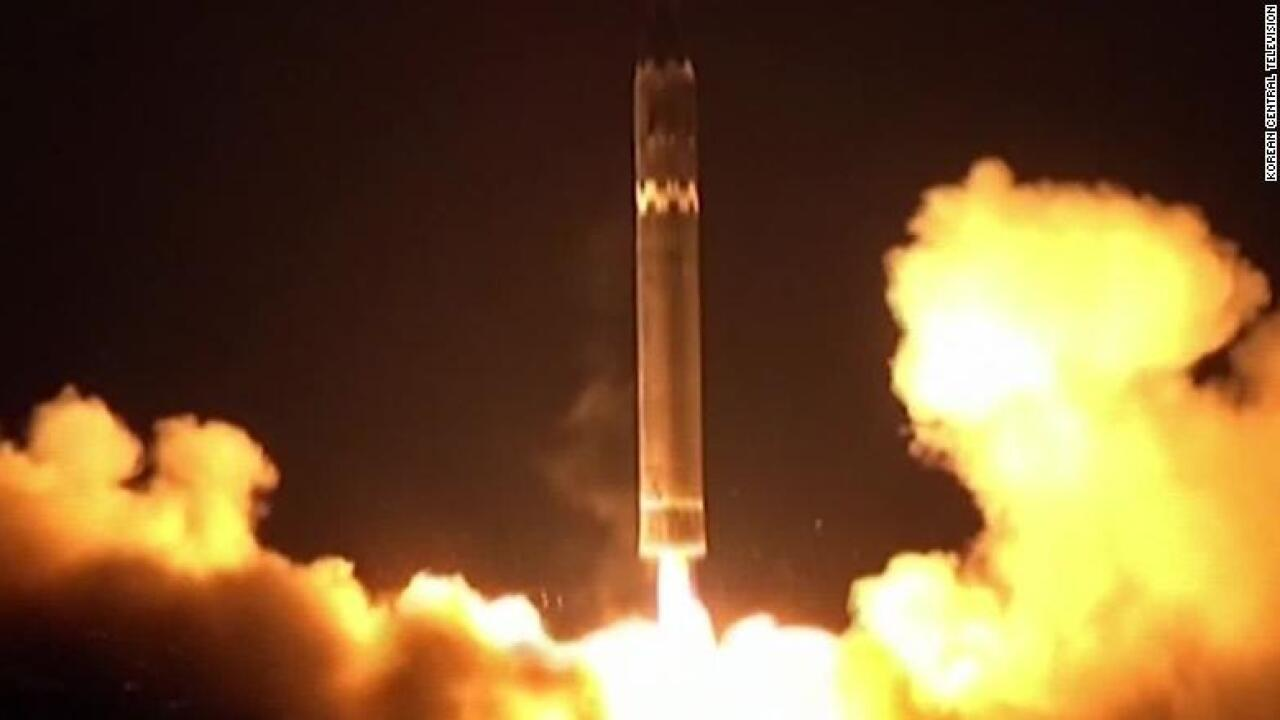 North Korea's new ICBM likely broke up upon re-entry, US official says