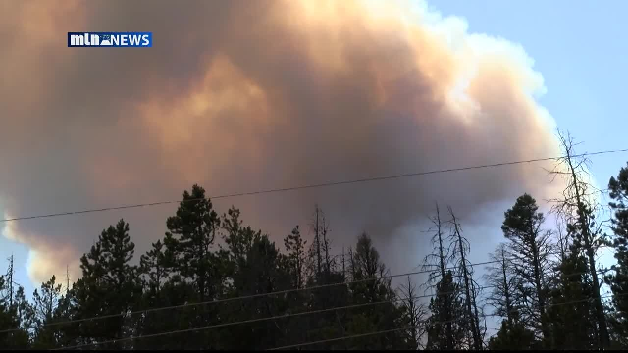 Wildfire near Lincoln grows to over 1,500 acres, evacuations ordered