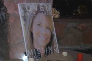 Candlelight vigil focused on hope for finding Kelsey Berreth