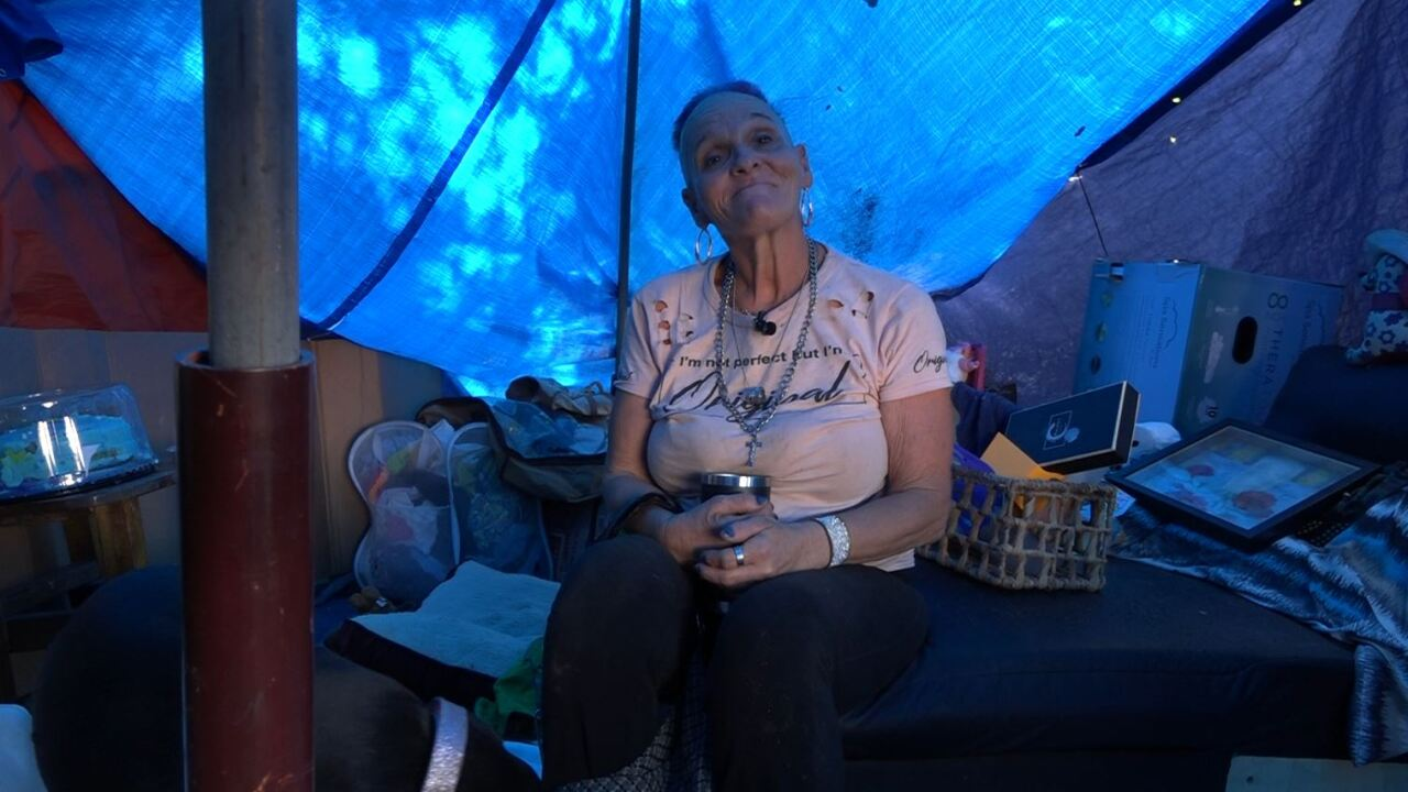 Homeless share there experiences living in homeless camps