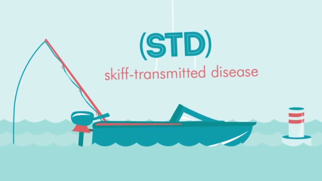 Avoid the 'STD of the Sea;' Div. of Wildlife Resources shows you how