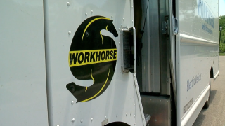 Workhorse electric truck