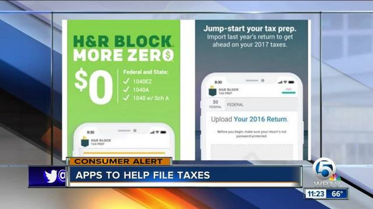 Apps to help you file your taxes