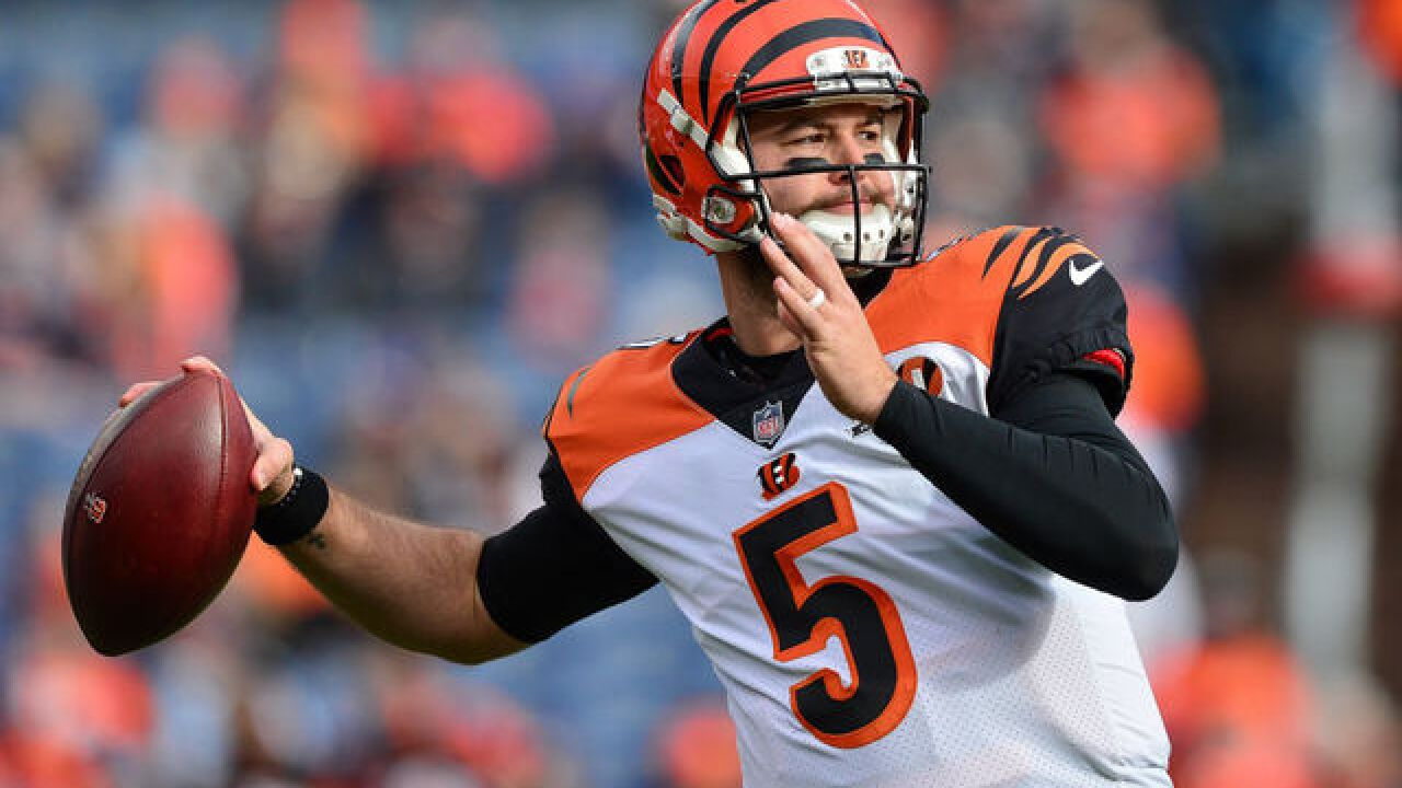 Buffalo Bills agree to terms with QB A.J. McCarron to two-year deal