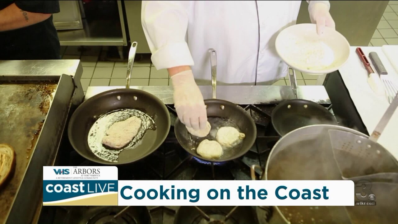 "Cooking up some ""Southern Comfort"" with Chef David Jones on Coast Live"