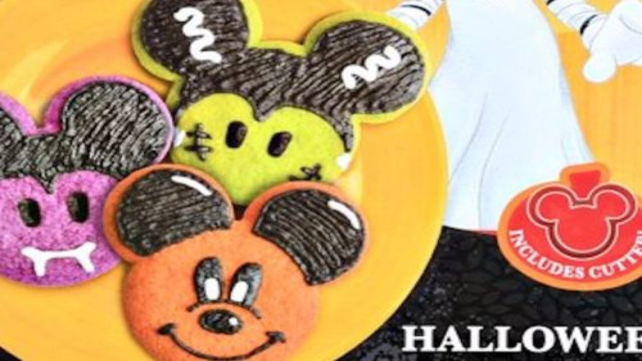 Mickey Mouse Halloween Cookie Kits Are Adorable