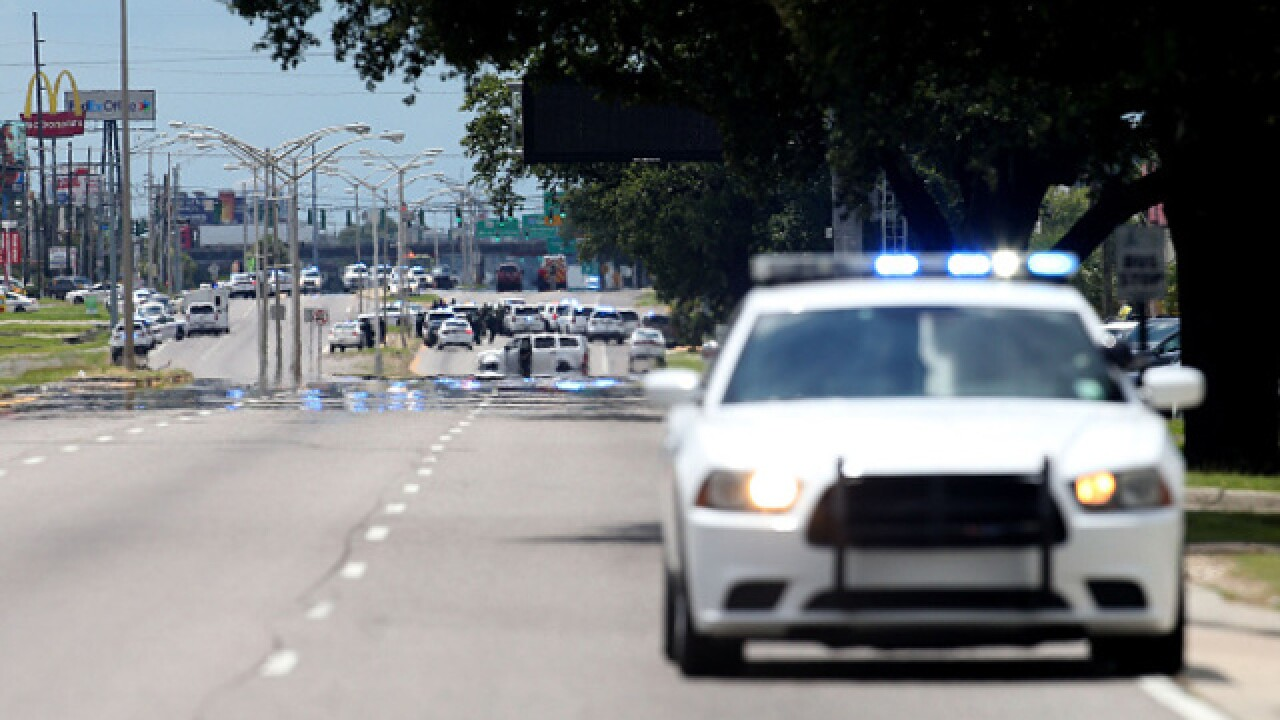 Photo Gallery: Police attacked in Baton Rouge