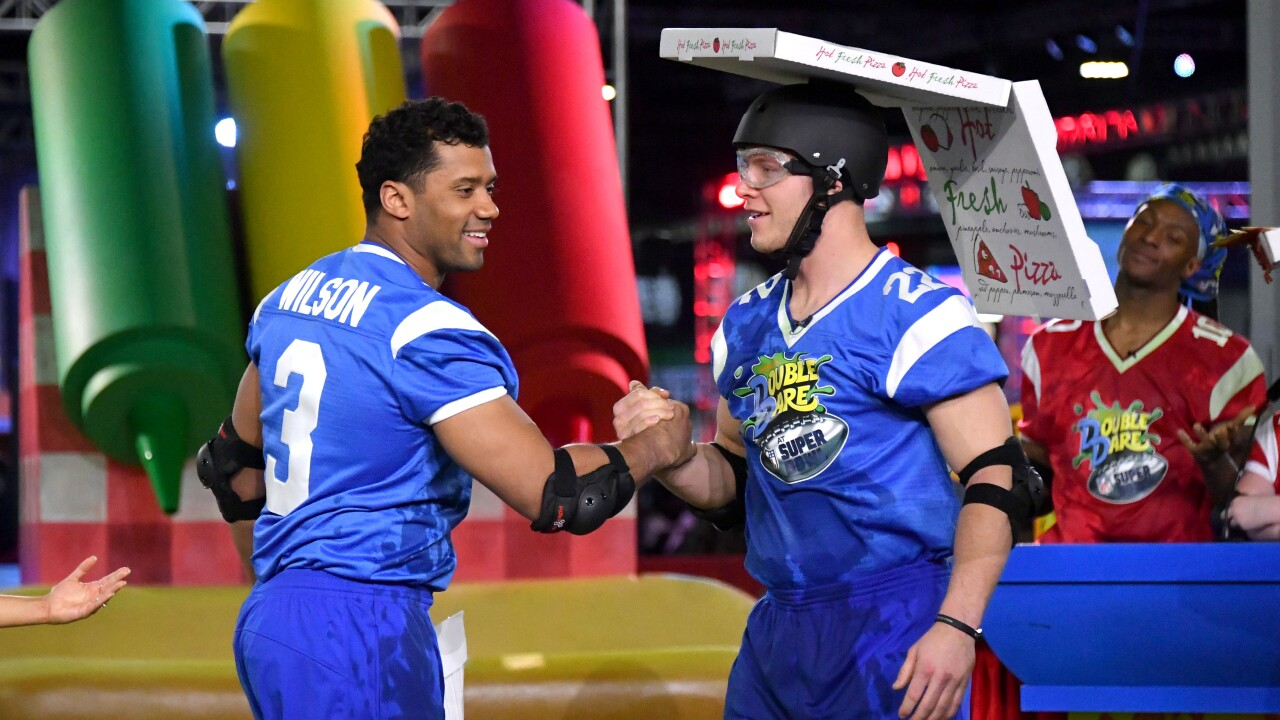 Nickelodeon's Double Dare Takes The Gridiron At Super Bowl LIII