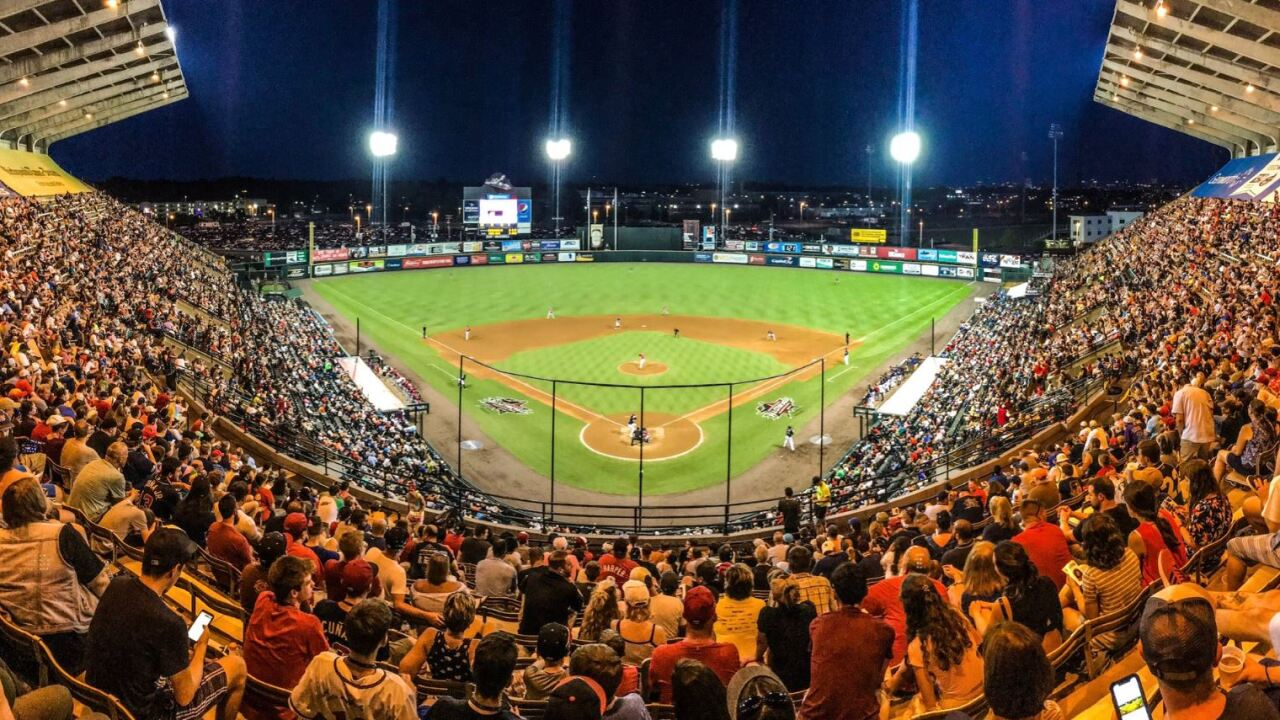 Record-breaking crowd cheers on Flying Squirrels to victory in Eastern League All-StarGame