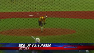 Bishop beats Yoakum to advance to regional finals